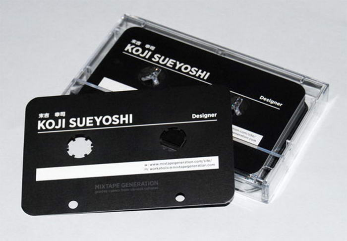 Cassette Business Card