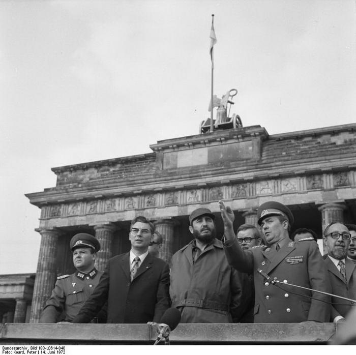 Castro in Berlin