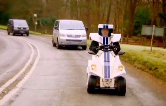 Clarkson Test Driving the P45