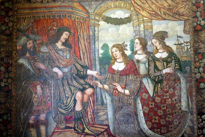 Cleopatra Meeting Antony