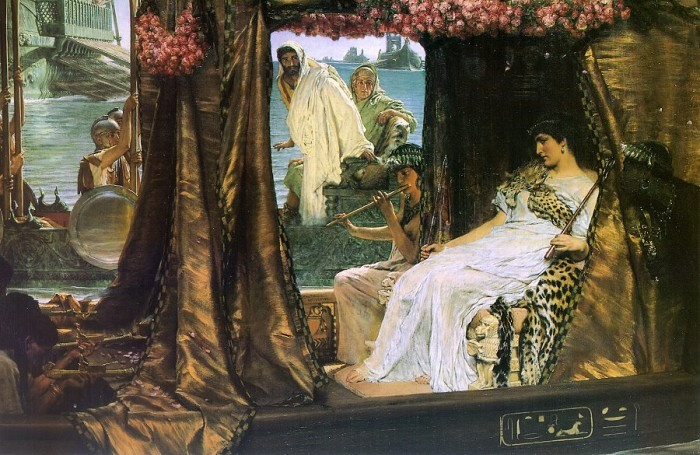 Cleopatra and Mark Antony