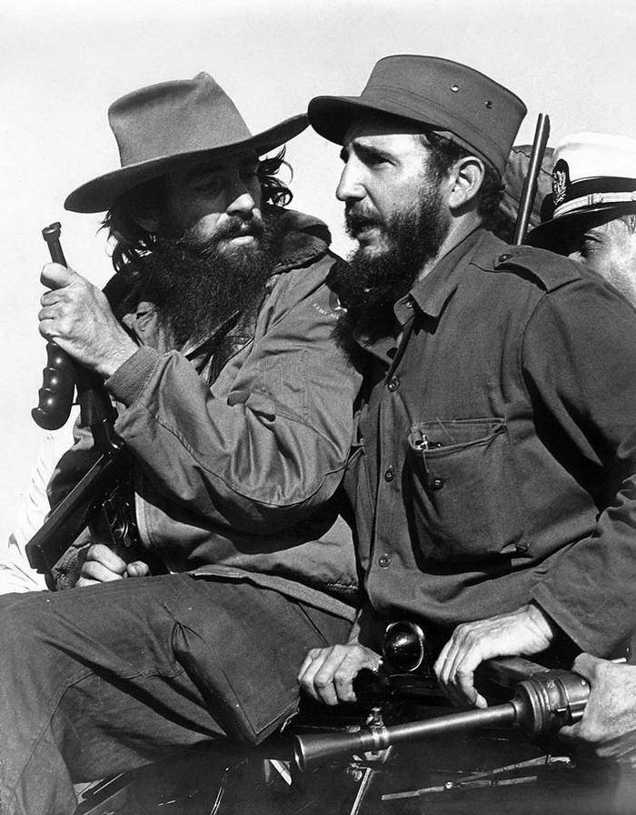 Fidel Castro and Camilo Cienfuegos in Havana