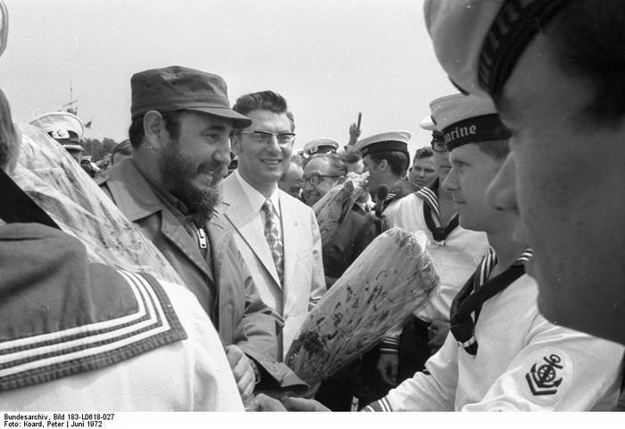 Fidel Castro in Rostock