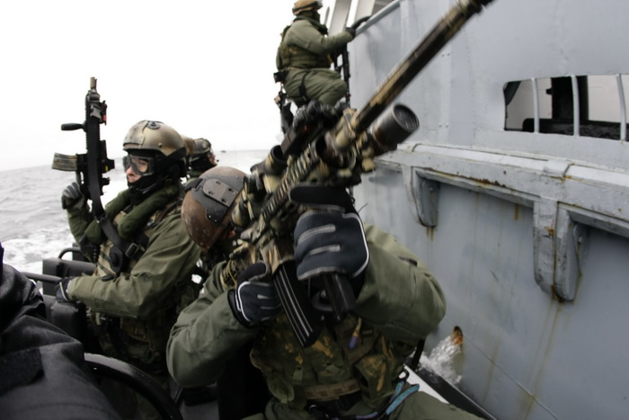 GROM with Navy SEALs