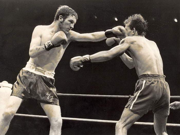 George Feeney boxing