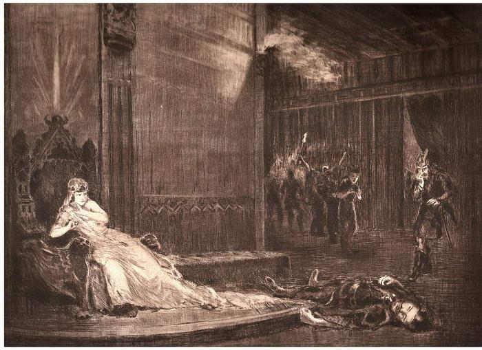 Great King Attila murdered
