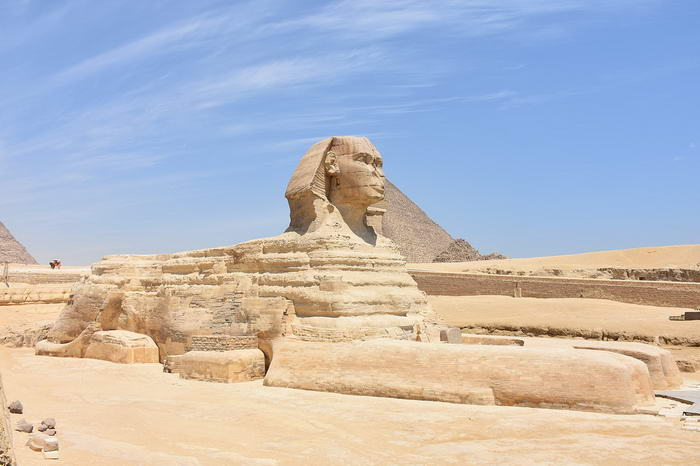 Great Sphinx of Giza May 2015