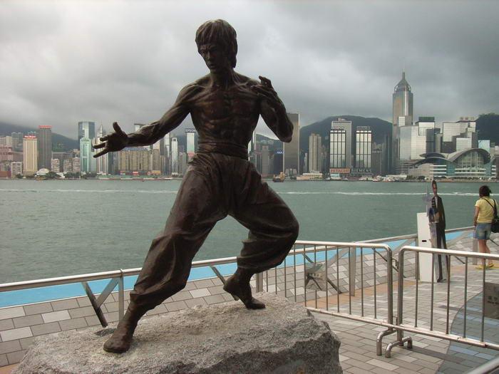 HK Star Bruce Lee