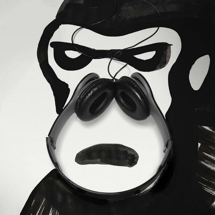 Headphone gorilla