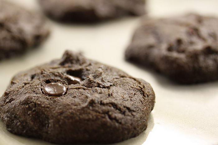 Hot Chocolate Cookies