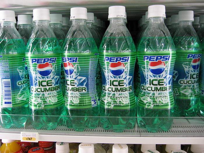 Ice Cucumber Pepsi