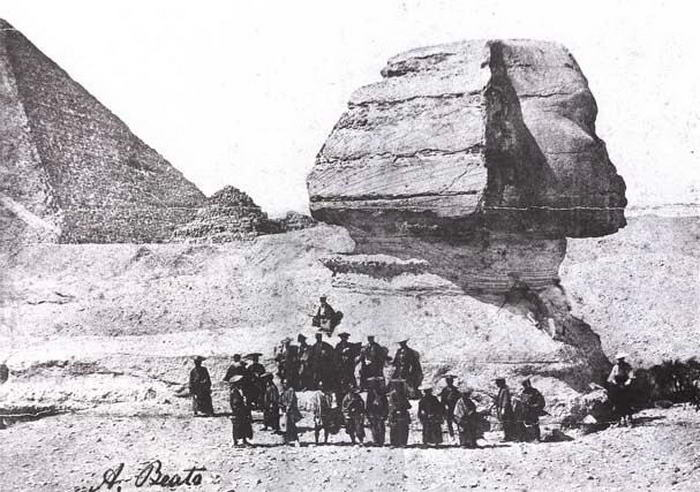 Japanese Mission Sphinx