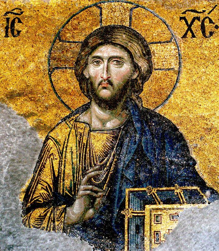 Jesus Christ from Hagia Sophia