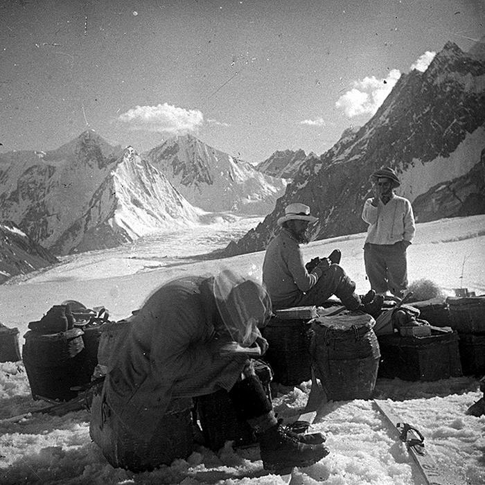 K2 base camp 1902