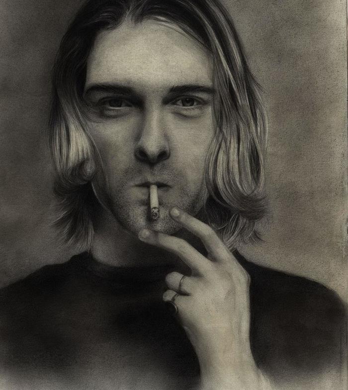 Kurt Cobain by Rose Robin
