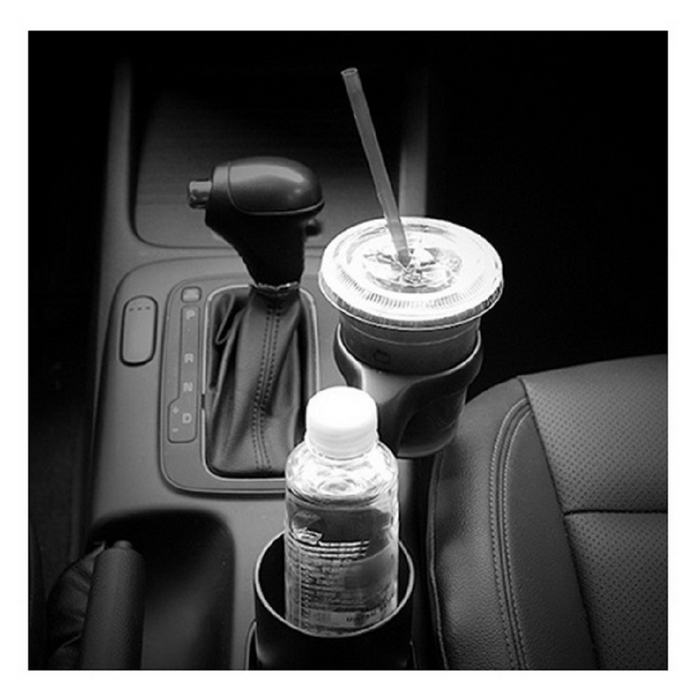 Kustom Plastic Cup Plus Car Cup Holder