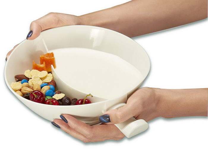 Med White Anti Soggy Cereal Bowl