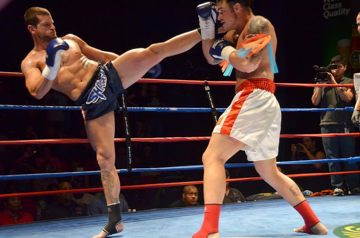 Muay Thai high kick