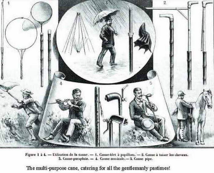 Multi-Purpose Cane