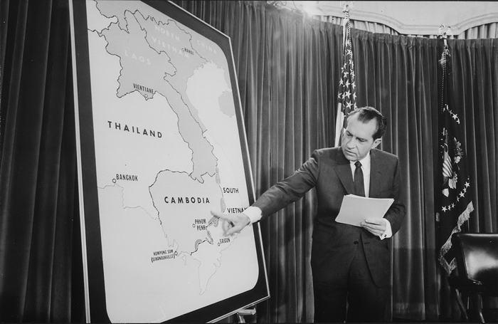Nixon on Cambodia
