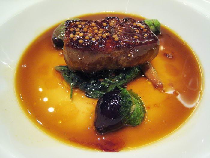 Pan seared Foie Gras
