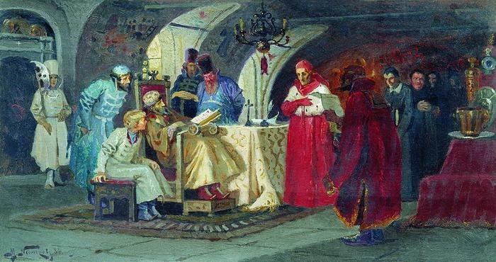 Papal legats visiting Ivan