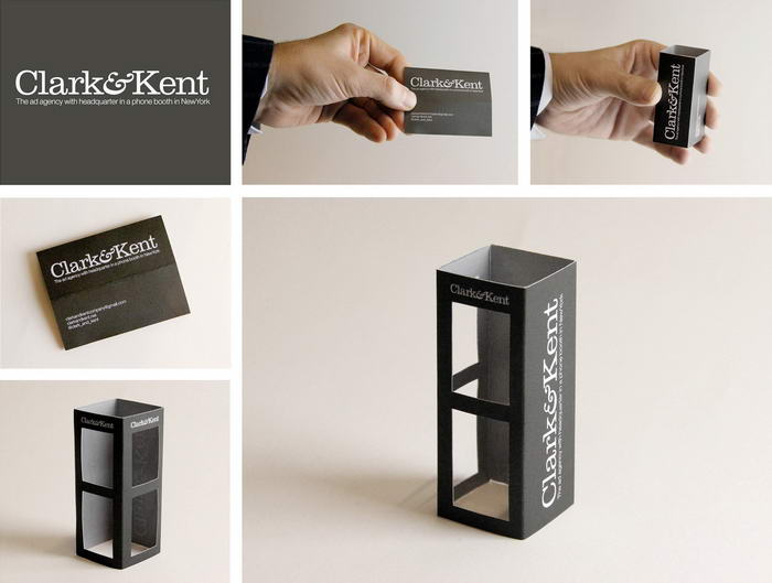 Phone Booth Business Card