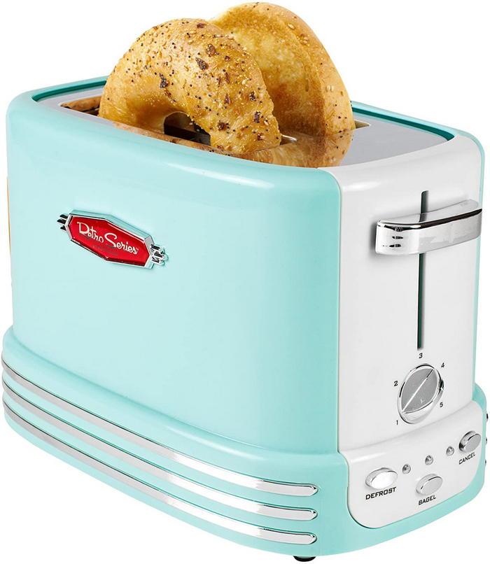 Retro Wide 2-Slice Toaster