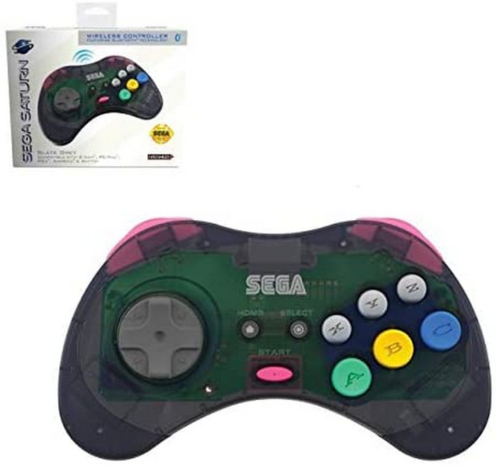 RetroBit Official Sega Saturn Bluetooth Controller