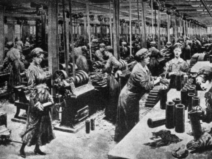 Roles of Women in WW1