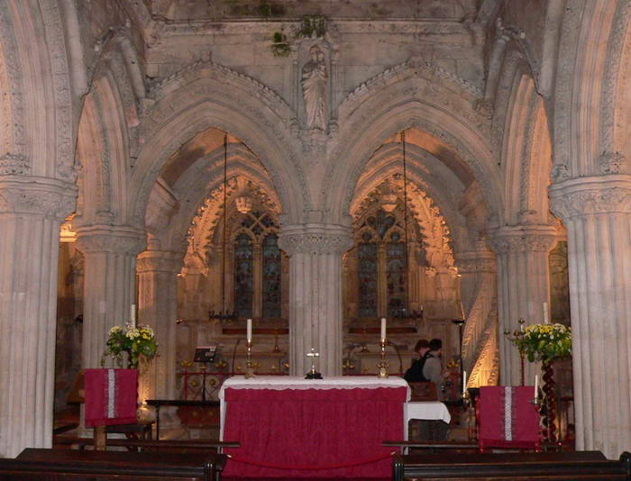 Rosslyn Chapel Altar