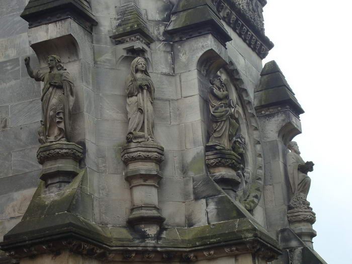 Rosslyn Chapel Statuary