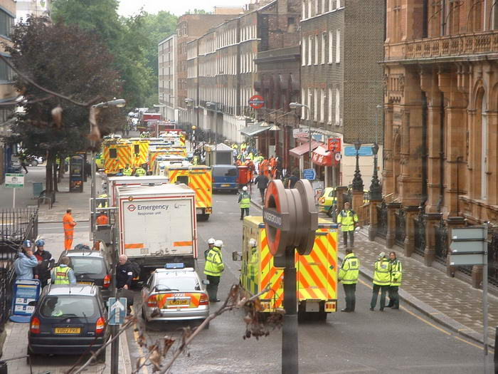 Russell square ambulances