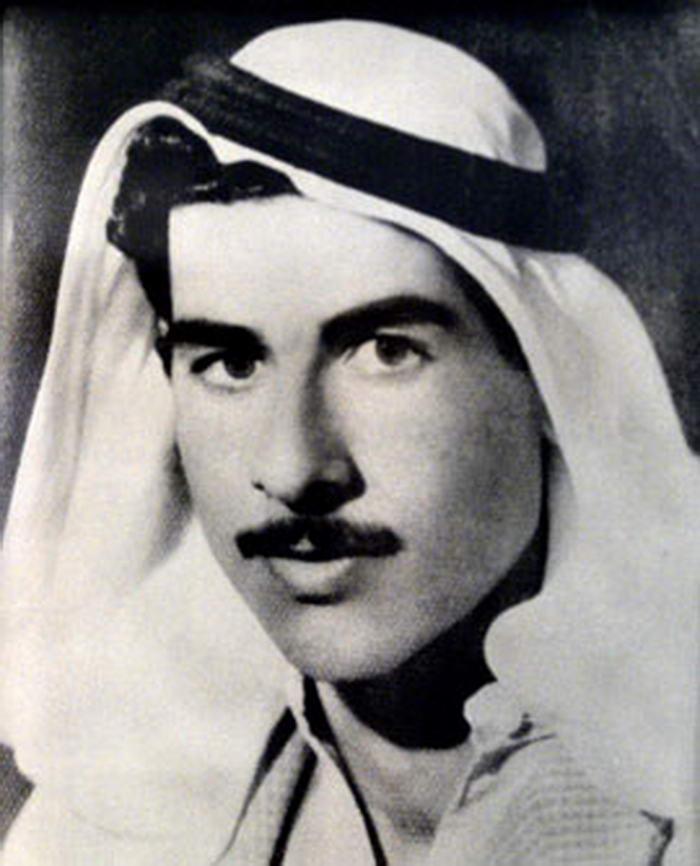 Saddam in his youth
