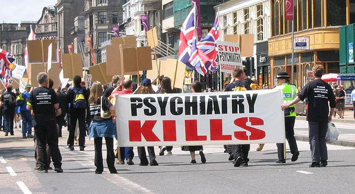 Scientology psychiatry