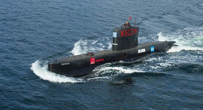 Submarine UC3Nautilus