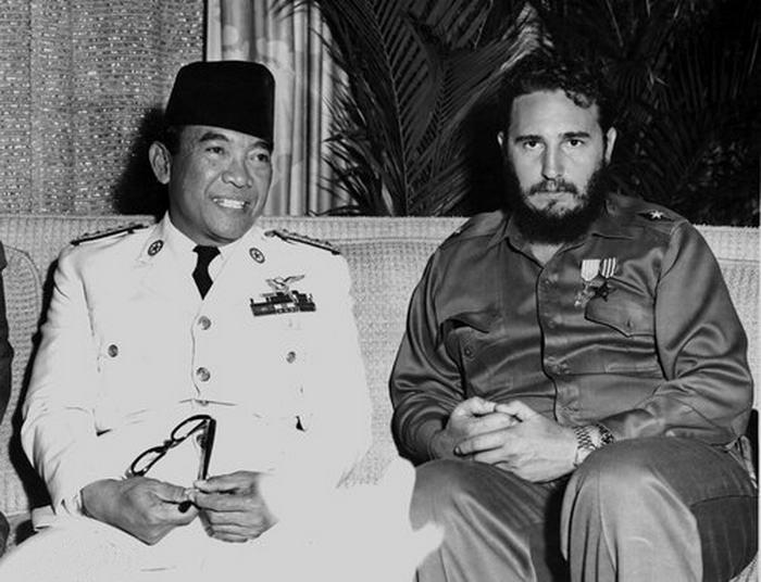 Sukarno and Fidel