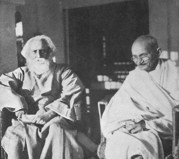 Tagore Gandhi