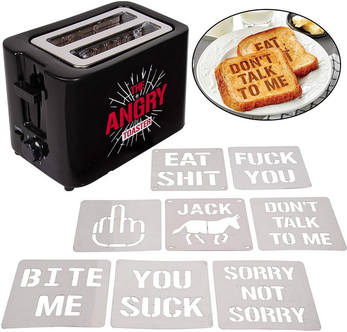 The Angry Toaster