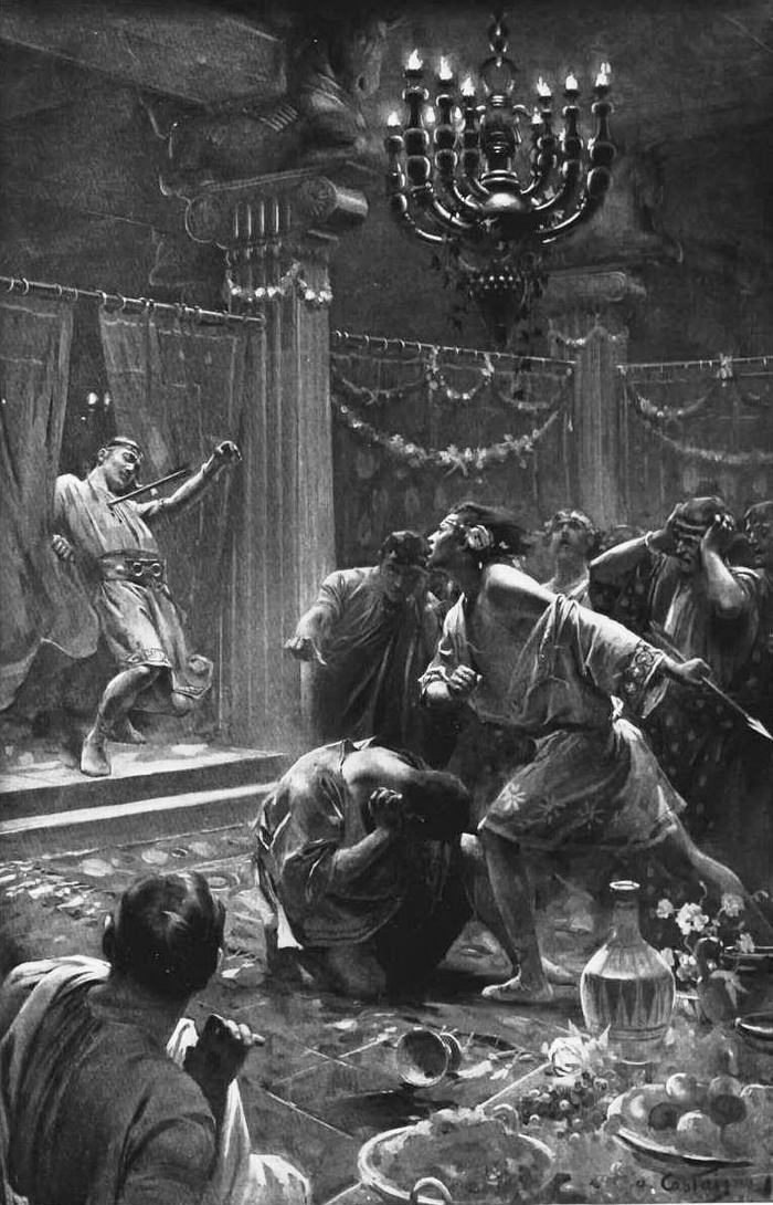 The killing of Cleitus