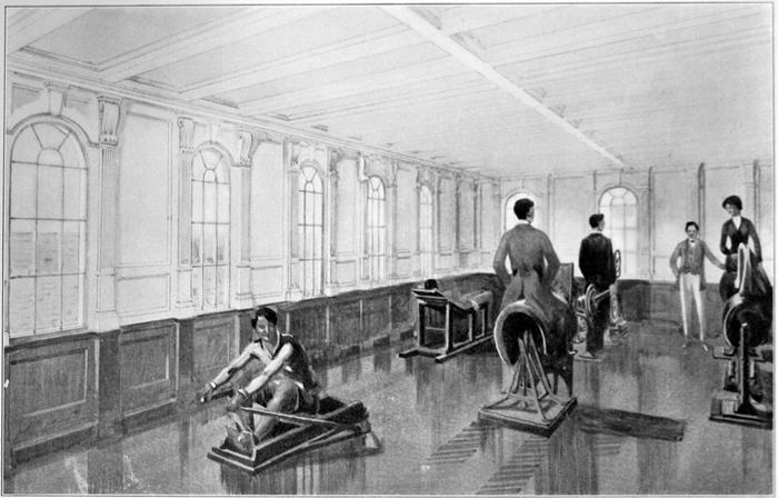 Titanic gymnasium