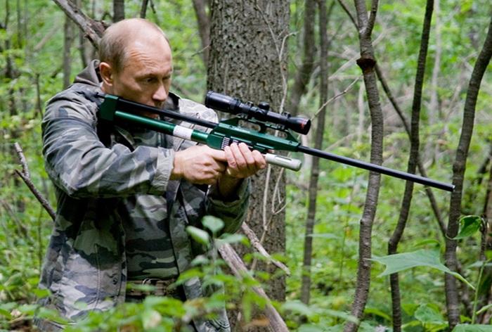 Vladimir Putin Amur tiger
