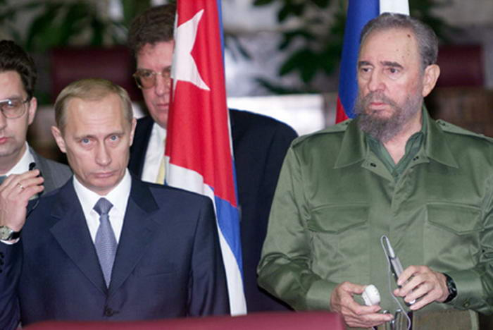 Vladimir Putin in Cuba