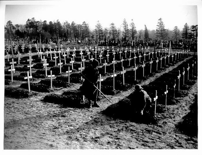 WWI British cemetery