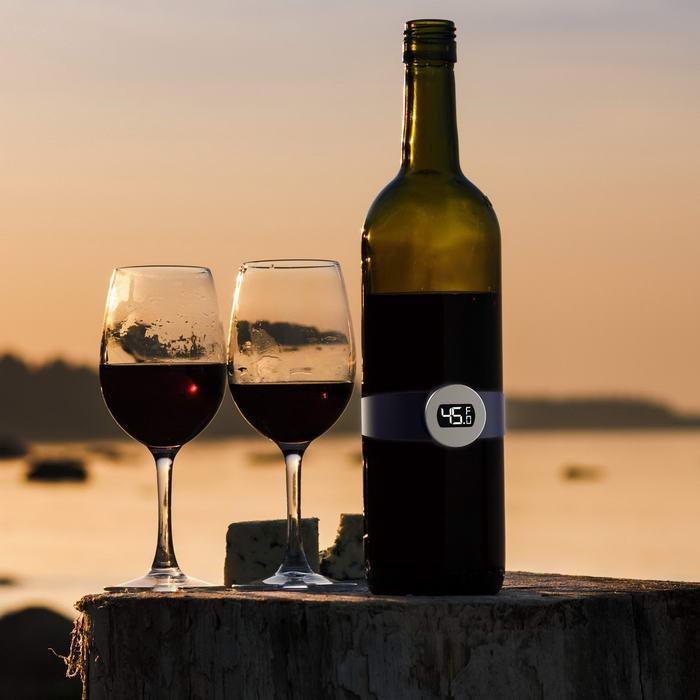Wireless Digital Wine Bottle Thermometer