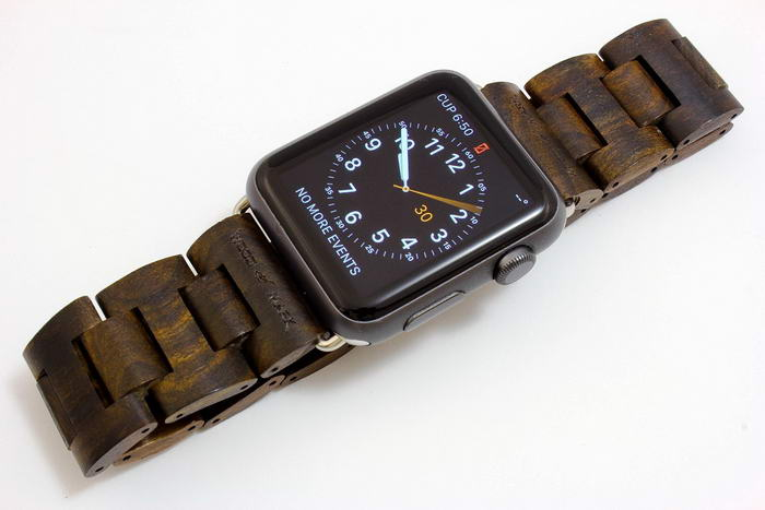 Wooden Apple Watch Band